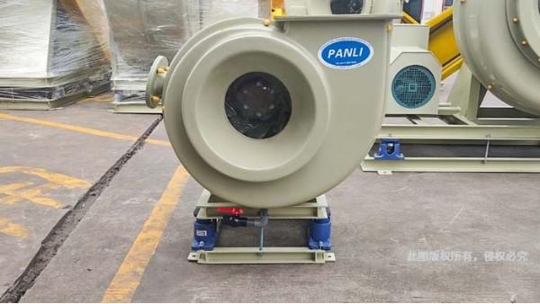 如何降低高压玻璃钢风机系统的噪声与振动?