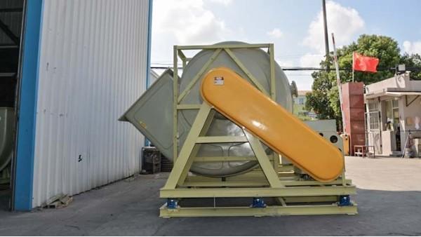 工业用玻璃钢防腐风机叶轮磨损的功用检验