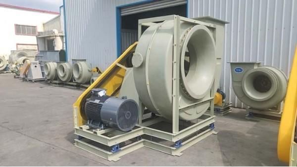 以下是减缓高压玻璃钢风机受腐蚀的三个方法