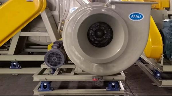玻璃钢离心风机的优点及安装前的检查工作呢?