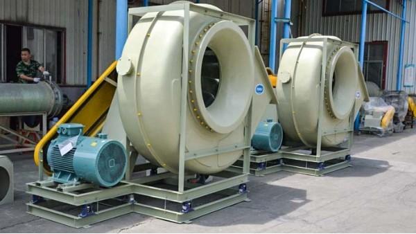 采购的玻璃钢排气风机出现负压时如何解决?