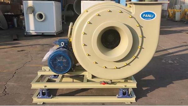 优化玻璃钢离心风机叶轮的加工尺寸和角度