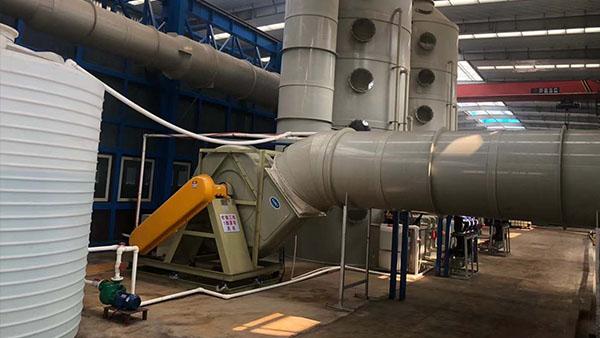 天津友发瑞达采购磐力三台防腐玻璃钢风机