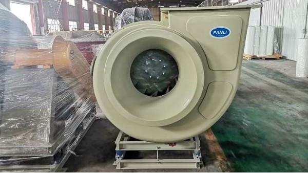 工厂玻璃钢风机现场安装时需要注意的事项