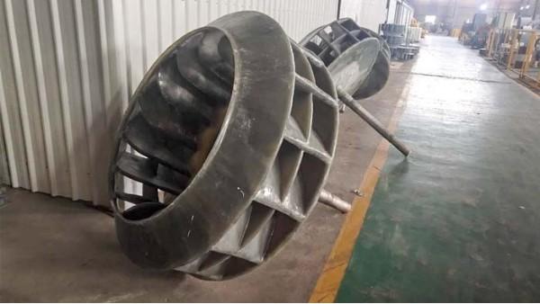 玻璃钢离心风机叶轮价格高与一体成型有关?