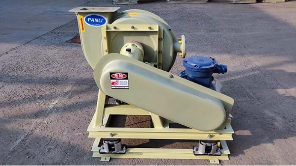 输送易燃性气体时,应选用防爆高压离心风机
