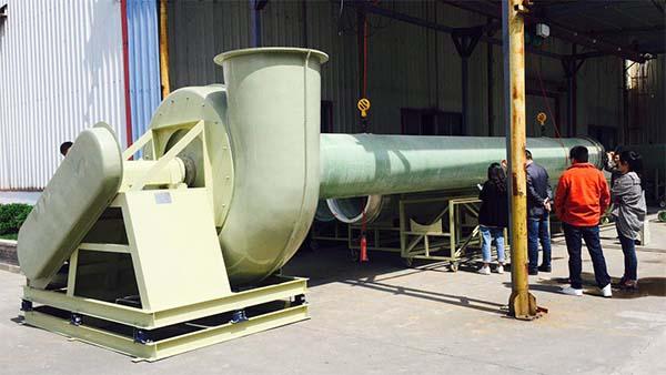 玻璃钢离心风机性能检测系统及检测项目