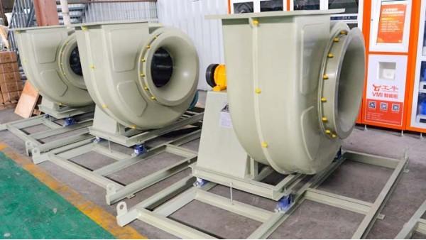 高压玻璃钢风机如何做到节省耗能、耐腐蚀性?