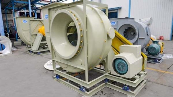 高压玻璃钢风机主轴出现问题原因及处理措施