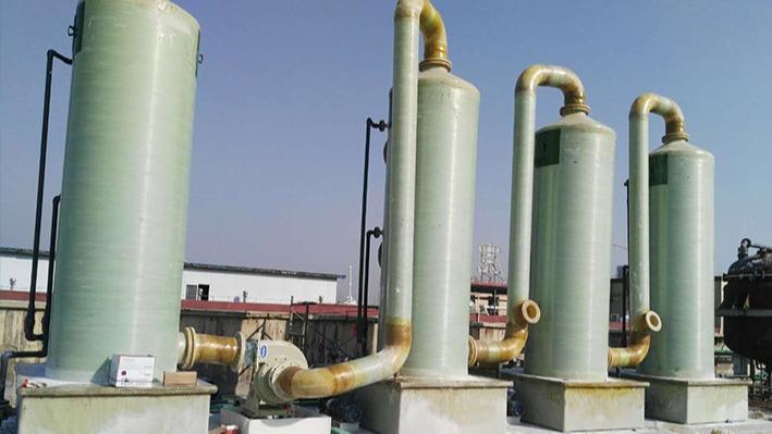 安徽贝特药业在磐力采购高压玻璃钢防腐风机