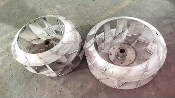 离心风机叶轮的材料最好是不锈钢板