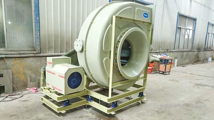 排气玻璃钢风机生产厂家2
