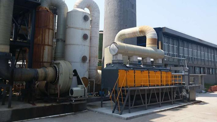 江西创瑞碳业在磐力采购玻璃钢耐酸碱风机