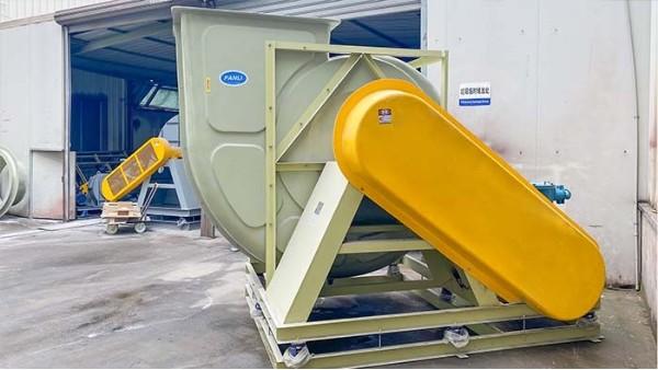 玻璃钢防腐风机在通风输送系统中的调试变化