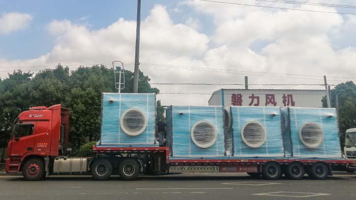 隔音箱玻璃钢风机生产厂家