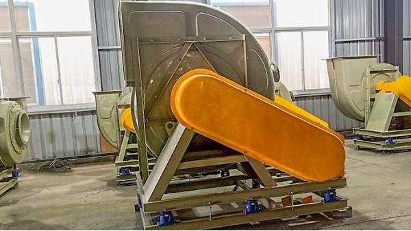 防腐耐酸碱玻璃钢风机叶轮设计和效率有关系?