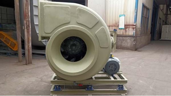 防腐耐酸碱玻璃钢风机噪音该如何进行降低呢?