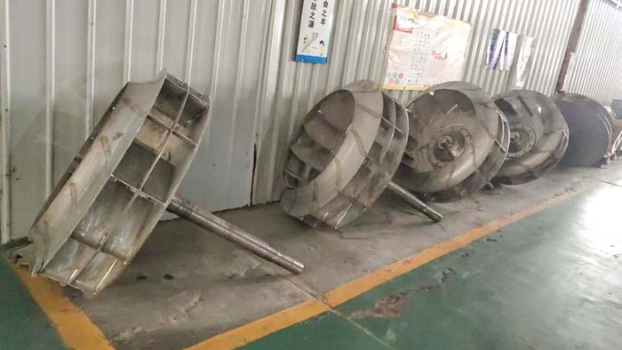 不锈钢离心风机叶轮