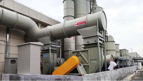 常州东方日升采购磐力玻璃钢防腐风机