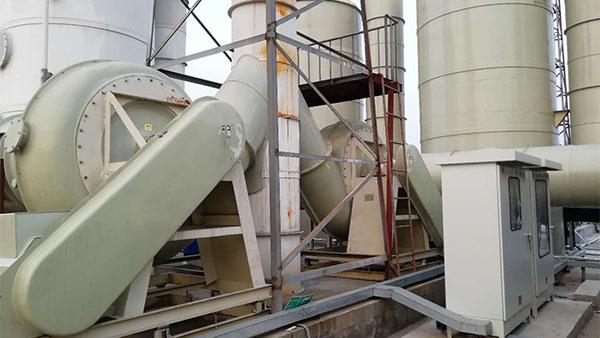 佛山普拉迪采购磐力玻璃钢高压风机