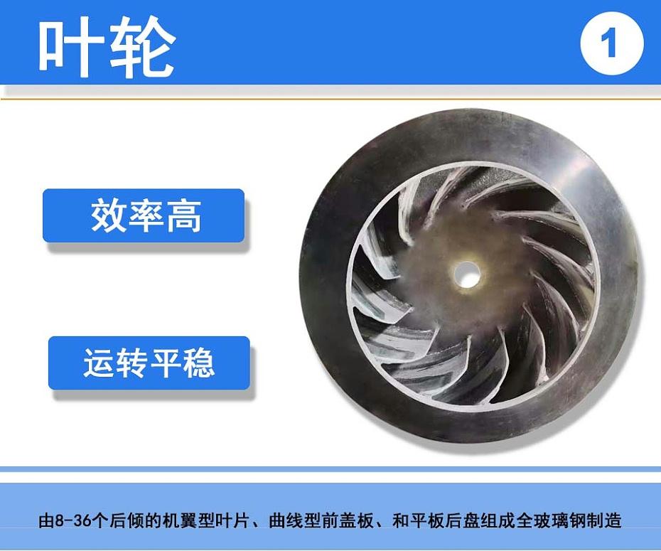 苏州防腐玻璃钢风机叶轮