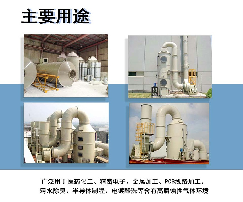 苏州防腐玻璃钢风机用途