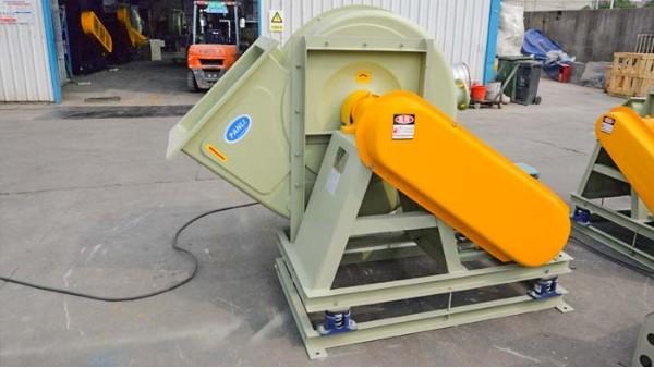 尾气玻璃钢风机各个部件的维护与保养工作