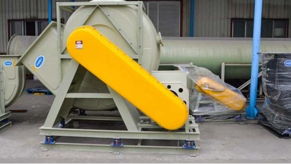 以下是排气玻璃钢风机润滑系统的保护方式